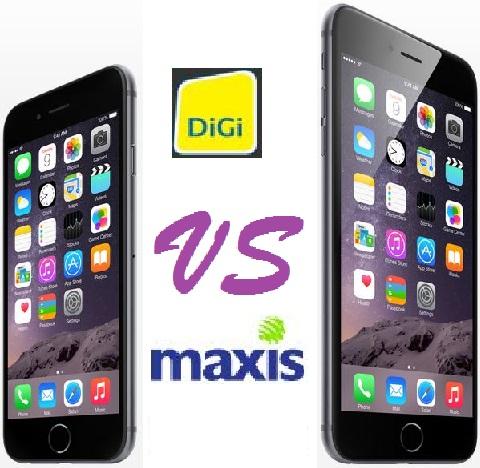 iPhone 6 & 6 Plus - DiGi vs Maxis - Winner?